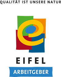 Arbeitgeber-Logo der Regionalmarke Eifel